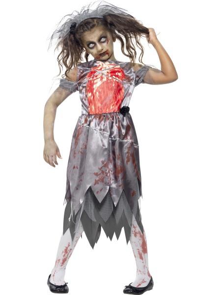 Dámský kostým - zombie nevěsta - Ptákoviny Karneval ce7e5131d19