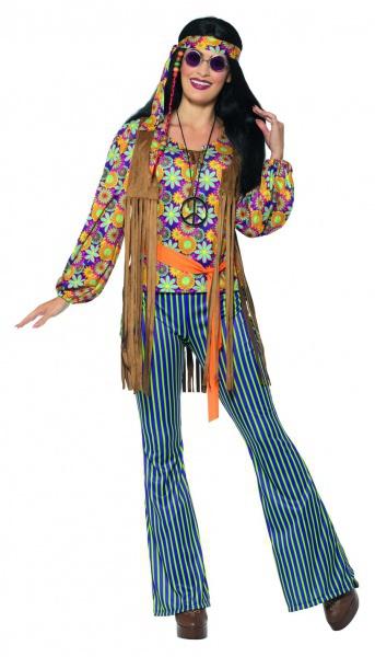 2ba593174098 Retro kostým - Hippie zpěvačka - Ptákoviny Karneval