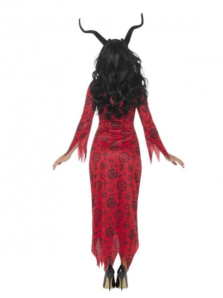 Dámský kostým - čertice v šatech - Ptákoviny Karneval b346fee0a7e