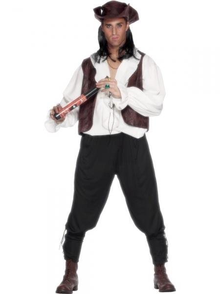 Kostým Pirát deluxe - Ptákoviny Karneval 12288163c99