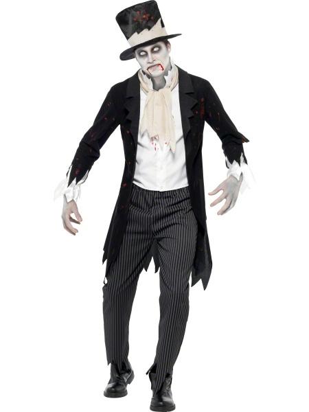 Kostým Zombie ženich - Ptákoviny Karneval 502b10e1bfa