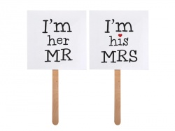 Cedulky Mr. a Mrs.