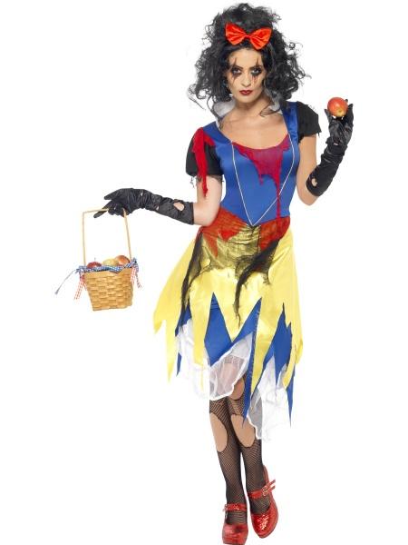 0974d4869 Kostým Strašidelná Sněhurka - Ptákoviny Karneval