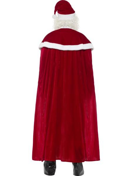 a95e702fb Luxusní kostým Santy Clause vhodný na vánoční večírek.