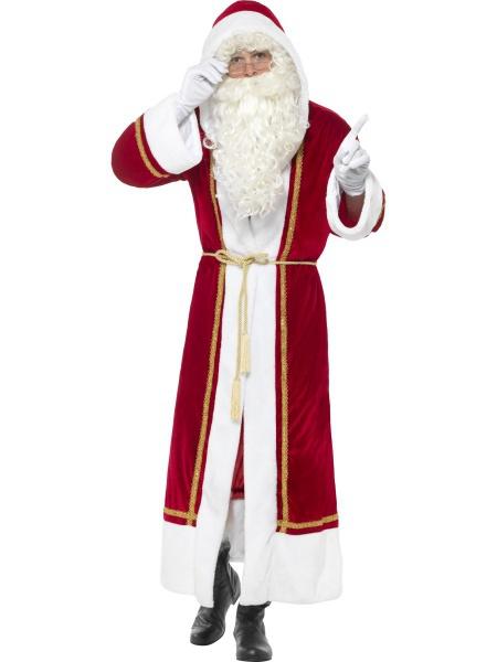 55d290b57 Luxusní plášť Santa Claus. Úvod > Karnevalové kostýmy > Vánoční ...