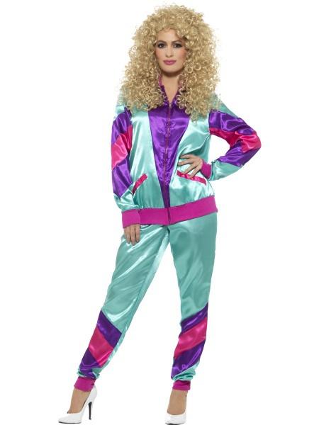00fa39e8683f Dívčí retro kostým - móda 80. let - Ptákoviny Karneval